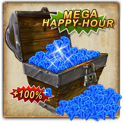 100% Happy Hour Banner